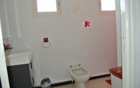 salle d'eau à l'étage (lavabo, bidet, douche)
