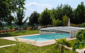 GITE PISCINE 3 EPIS GRANDS ESPACES, PANORAMIQUE - Montpezat de Quercy
