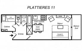 Appartement 2 pièces 4 personnes (11)
