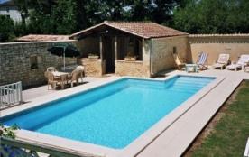 location 8/9 pers. avec piscine en Périgord - Sadillac