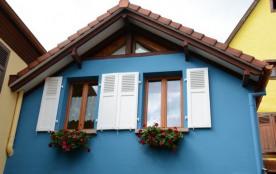Gîte La Maison Bleue en Alsace