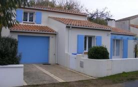 FR-1-194-112 - QUARTIER CALME  Jolie maison à 2 pas de la plage.