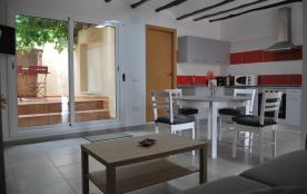 Appartement climatisé avec terrasse pour 2 à 4 personnes