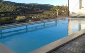 villa 100m2, piscine privée