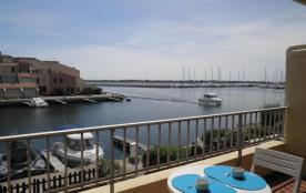 Gruissan (11) - Port - Résidence Presqu'île I. Appartement 3 pièces cabine - 32 m² environ- jusqu...