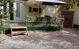 Mobil'Home 5/6 places - Camping calme et ombragé