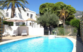 Appartement 4/5 pers. piscine, 100 m. de la mer