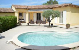 Villa avec piscine - 118 m² environ - jusqu'à 6 personnes