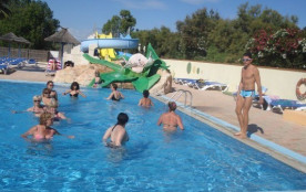 Camping Le Trivoly - Mh Caraïbes 2Ch 4/6Pers + Terrasse en Bois