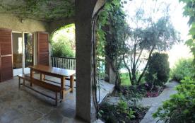 vue de la terrasse du laurier