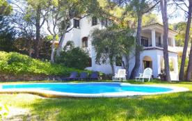 Villa 8 pers proche plage avec piscine privée