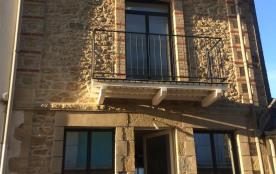 façade coté rue 1mn plage