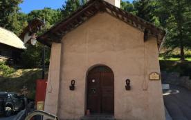 Vue sur la chapelle