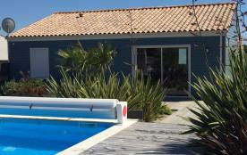 La Maison Bleue Classée 3* - Bord de mer - Piscine - Wifi - Vendée