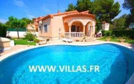 Villa GX Oli - Attrayante villa pour 6 à 7 personnes implantée sur un joli terrain arboré avec pi...