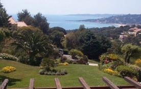 Appartement F2 très belle vue mer à Sainte Maxime