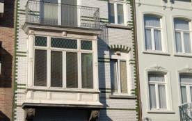 Ostende vue mer terras soleil paques 395/semaine
