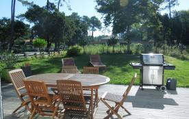 Superbe Villa Mitoy par Garage située dans un quartier calme à proximité du lac d'Hossegor et 1.4...
