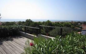 Pavillon T4 en duplex, grande terrasse, vue mer… !