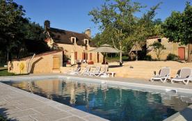 Maison de caractère avec piscine et accès privé à la rivière