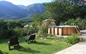 RDC villa piscine près d'Amélie les bains