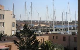 Gruissan (11) - Rive Droite - Résidence Gruissan Port. Appartement 2 pièces cabine - 27 m² enviro...