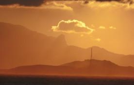Lever de soleil sur les îles marseillaises