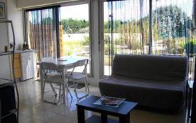 Très agréable studio de 25 m² en rez-de-chaussée avec une terrasse exposée Sud, sur les jardins, ...