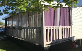 Terrasse entièrement couverte
