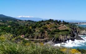 A proximité du sentier du littoral qui mène à Collioure