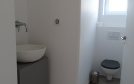 WC indépendant et son lave-mains