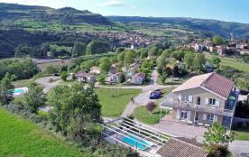 village-vacances  de chalets  Millau