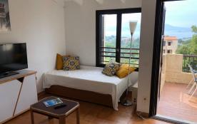 Porticcio, Appartement deux pièces vue mer (4/5 personnes) avec terrasse
