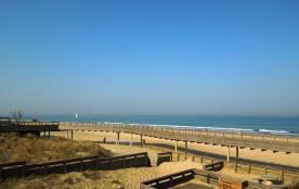 Agréable studio en bordure de la plage Sud d'Hossegor avec magnifique vue sur l'océan, la plage, ...