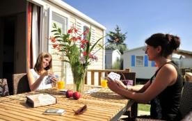 Camping Le Domaine de Ker Ys - Mh Cottage 2ch 4/6 pers (4ad + 2 enf) + Terrasse Intégrée