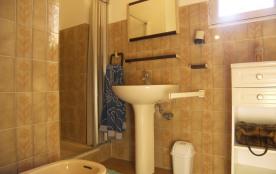 salle d'eau coté douche