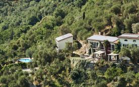 Les maisons d'en haut avec piscine