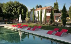Mas de César, XVIIIème, piscine 15X7m chauffée en Drôme Provençale
