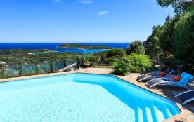 Villa de Charme en pierre à Bonifacio, vu mer Sardaigne, Lavezzi, voir la Video
