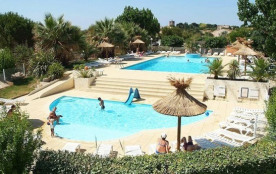 Camping BEAU RIVAGE  - MH 3ch 6pers 32m² + Terrasse Couverte