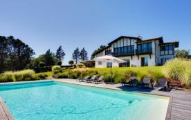 Superbe maison basque vue exceptionnelle