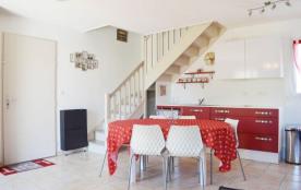 Narbonne Plage (11) - Quartier des Foulquines basses - Résidence Les Grandes Bleues III. Maison 3 pièces mezzanine - ...