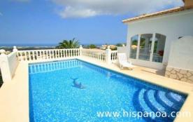 Villa avec piscine en locationà Den