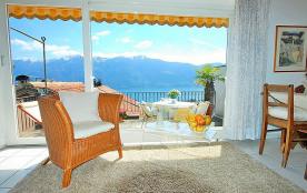 Appartement pour 2 personnes à Ronco sopra Ascona