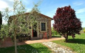 Studio pour 2 personnes à Montecatini Val di Cecina