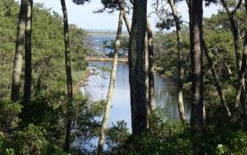 cap ferret-villa 8-9 pers 4ch sur les réservoirs de piraillan site classé)