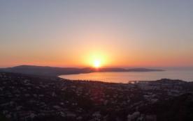 Levé du soleil sur Cavalaire