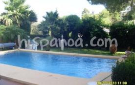 Cette villa de vacances à Denia pour 8 pe