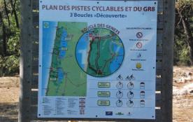 carte pistes cyclables à 200 m