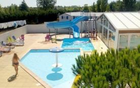 Domaine Le Jardin du Marais - Mobil-home SAULE 3 chambres